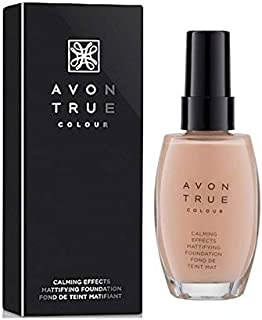 Avon True Colour Calming Effects Mattifying Foundation Found De Teint Matifiant - Ivory