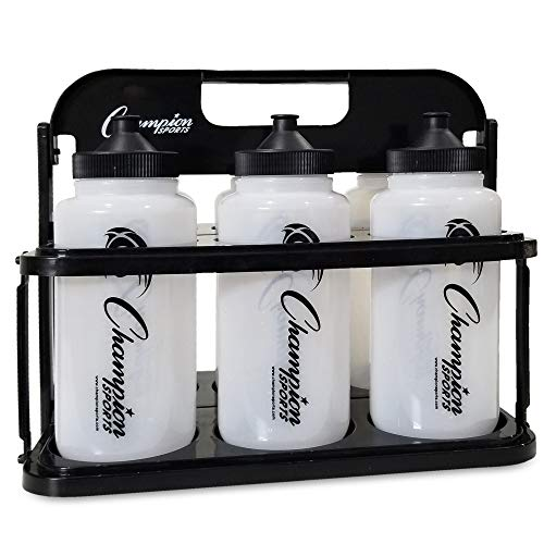 Champion Sports Plastic Water Bottle Set