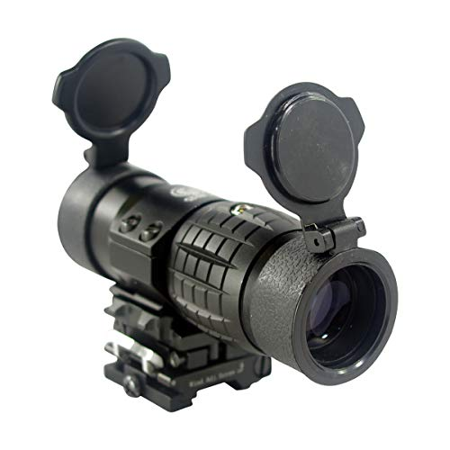 Cobra Tactical Solutions Copperhead 3X Magnification I Reflex Sight I For Picatinny Rail I For Airsoft Weapons I Quick Release