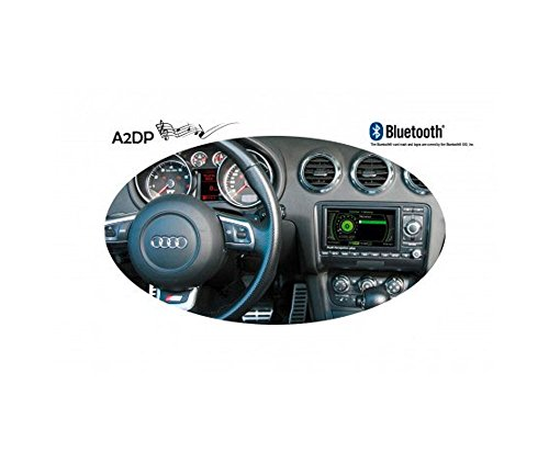 FISCON Bluetooth®-Freisprecheinrichtung Basic-Plus für Audi (RNS-E) & Seat Exeo (Media System E)