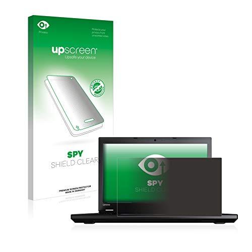 upscreen Anti-Spy Blickschutzfolie kompatibel mit Lenovo ThinkPad L560 Privacy Screen Sichtschutz Bildschirmschutz-Folie