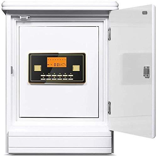 ZHUYUE-kantoor veilig huishouden onzichtbare kluis hout nachtkastje elektronische safe LED digitaal buisdisplay (kleur: geel, grootte: 55x43x37cm)