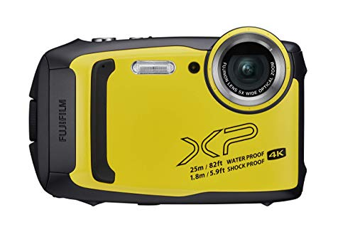 Fujifilm FinePix XP140 Fotocamera Digitale Impermeabile 25 m, CMOS 16MP, Zoom Ottico 5x,...