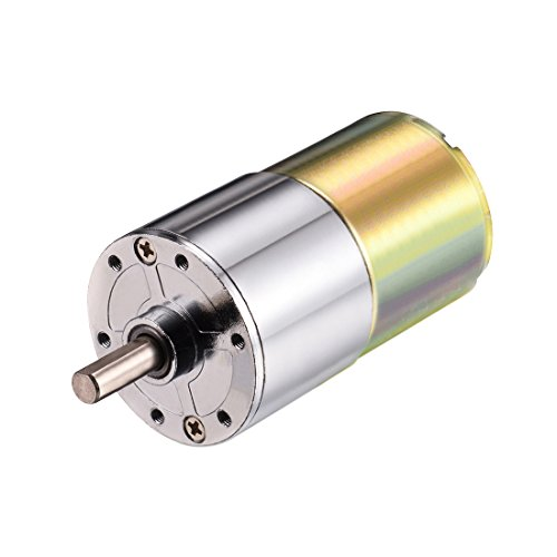 uxcell 12V DC 208RPM Gear Motor Micro Speed Reduction Geared Motor Centric Output Shaft