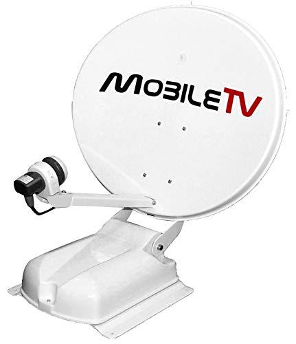 Antenne Satellite Parabole Automatique 65cm 4K TNTSAT & FRANSAT pour Camping-Car / Caravane / Fourgon - Garantie MÉCANIQUE A Vie