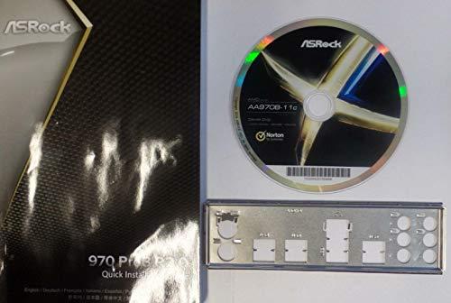 ASRock 970 Pro3 R2.0 Handbuch - Blende - Treiber CD