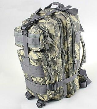 Best to Buy Multipurpose Tactical BackPack Upgraded Large Camping Hiking Shoulder Pack 25L (Camouflage)