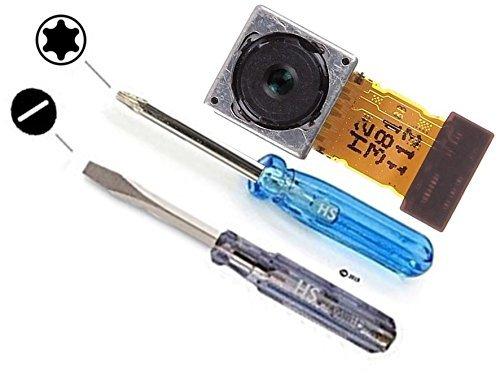 MMOBIEL Cámara Trasera/del Reverso Compatible con Sony Xperia Z1 / Z1 Compact / Z2 Repuesto 20,7 MP autoenfoque, Flash, cámara del Reverso Incl. 2X Destornilladores