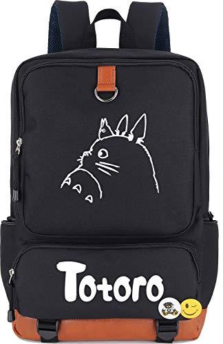 Roffatide Anime My Neighbor Totoro Luminous Backpack Printed Book Bag Laptop School Bag