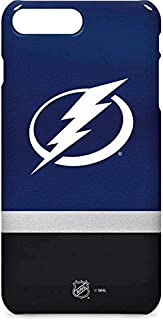 Skinit Lite Phone Case for iPhone 8 Plus - Officially Licensed NHL Tampa Bay Lightning Alternate Jersey Design