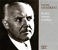 ヴァルター・ギーゼキング 初期協奏曲録音集 1932~1939 (3CD)