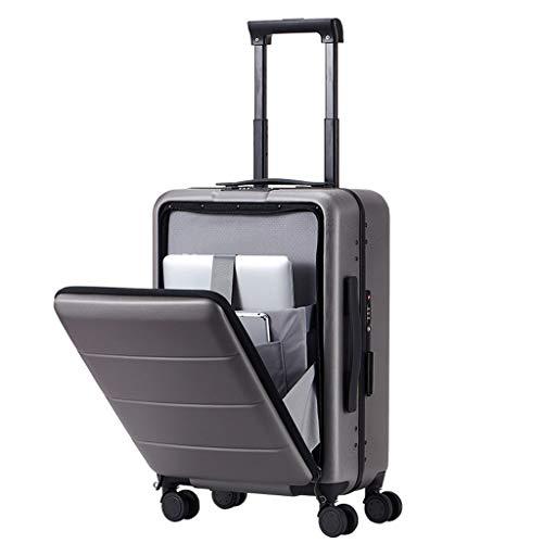 Universele koffer met wieltjes, 4 wieltjes, harde schaal, met wieltjes, voor mannen en vrouwen, voor zakenreizen, open box, bagagetrolley, voor op de auto, universele wieltjes