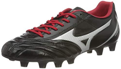 Mizuno Monarcida Neo Select, Scarpe da Calcio Uomo, Nero (Black/Silver/Red 03), 42 EU