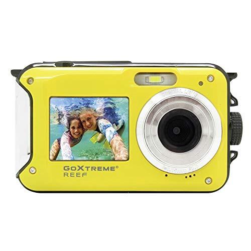 Easypix GoXtreme 'Reef' Unterwasserkamera mit Webcam-Funktion, 4-Fach Zoom, Anti-Shaking Funktion, 2 Displays,...