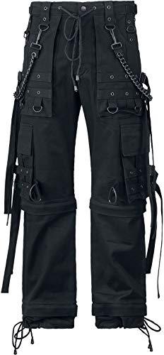 Gothicana by EMP Abaddon Männer Cargohose schwarz W33L34 100% Baumwolle Gothic, Industrial, Rockwear