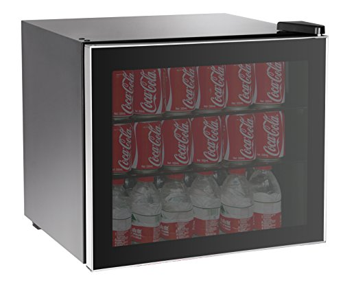 RCA 70 Can Beverage Cooler, Black
