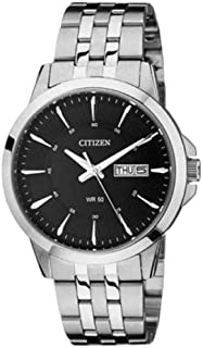 Citizen Women's Black Dial Stainless Steel Band Watch - EQ0601-54E