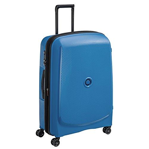 DELSEY PARIS BELMONT PLUS Valise, 102 litres, bleu cyan