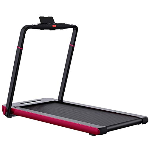 Best Deals! GHGJU Silent Electric Treadmill,Real-time Heart Rate Monitoring,handrail Height Adjustab...