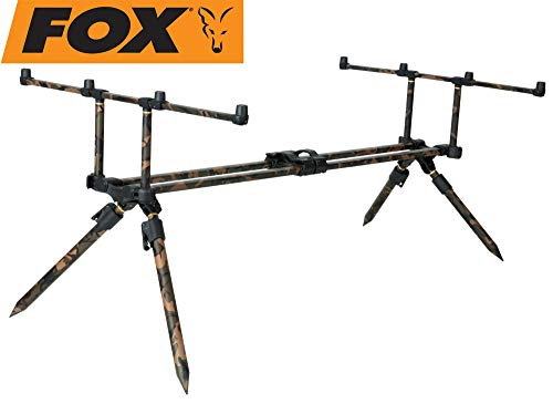 Fox Horizon Duo camo 4 Rodpod incl. 2 x 36' long legs - Rod pod
