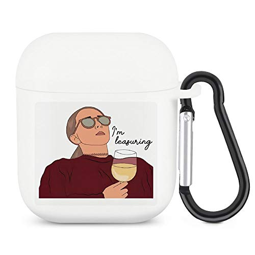 Jenna Marbles Case for Airpods Silicone Cover with Keychain