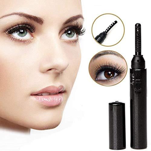 Eyelash Curler Recourbe-Cils, Mini-Outil de recourbement électronique Portable Chauffant pour Maquillage, Pinceau pour Cils, Longue durée