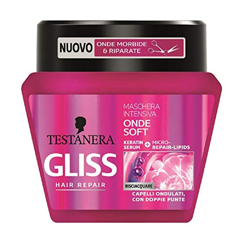 GLISS Après-Shampoings Mâchera Capelli Onde Satin 300 ml