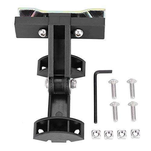 Adaptador para portabotellas de bicicleta Soporte de jaula para portabotellas doble de ciclismo para sillín trasero de bicicleta