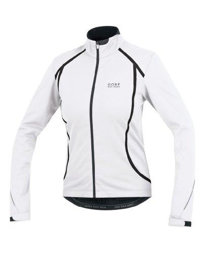 Gore Bike Wear Oxygen SO - Chaqueta para Mujer, Mujer, Color Blanco/Negro, tamaño 66 ES Medium