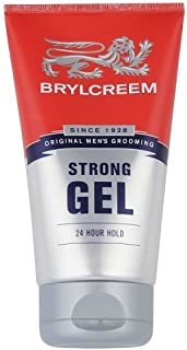 BRYLCREEM STRONG 24 HOUR HOLD GEL 150ml [Health and Beauty] [Health and Beauty]