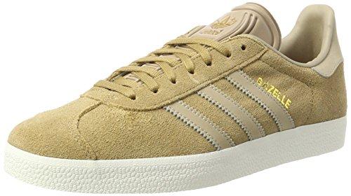 adidas Gazelle, Zapatillas Hombre, Beige (Cardboard/Trace Khaki F17/off White), 40 EU