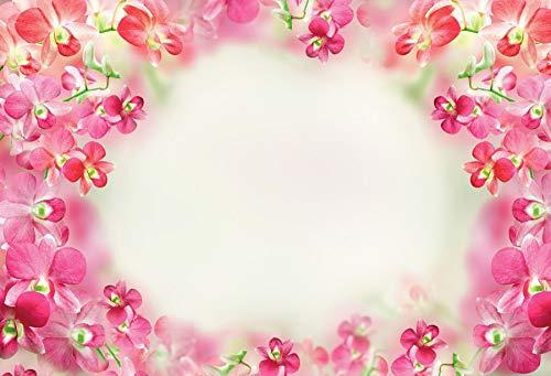 Fondo de Madera para fotografía Tablón de Flores de Primavera Tablero de pétalos Pet Child Digital Photo Studio Props Fondos fotográficos A8 9x6ft / 2.7x1.8m