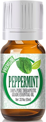 Peppermint Essential Oil - 100% Pure Therapeutic Grade Peppermint Oil - 10ml