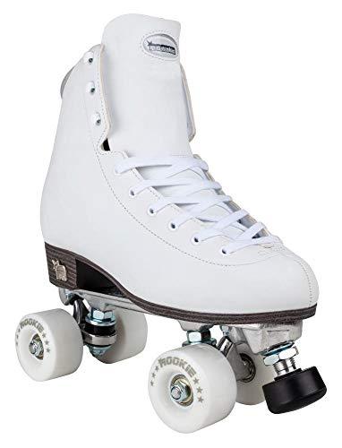 Rookie Rollerskates Artistic Skates Unisex Kinder weiß (White), 3 Kinder
