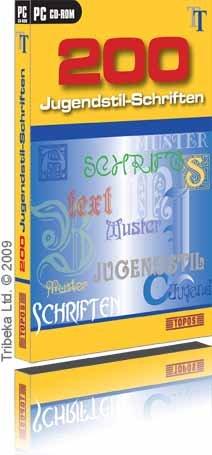 200 Jugendstil-Schriften