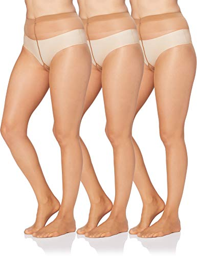 Iris & Lilly by Wolford 14863 Strumpfhose, Beige (Honig), 16, 3er-Pack