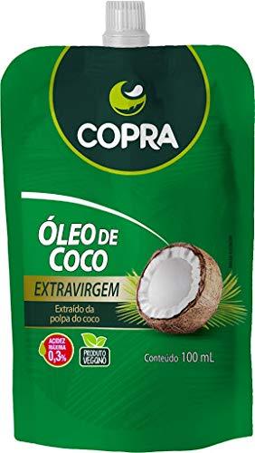 Óleo de coco extra virgem stand pouch 100ml