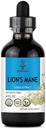 Lion s Mane Liquid Extract 4 fl oz Brain Booster for Enhanced Mental Focus Memory Clarity Daily product image