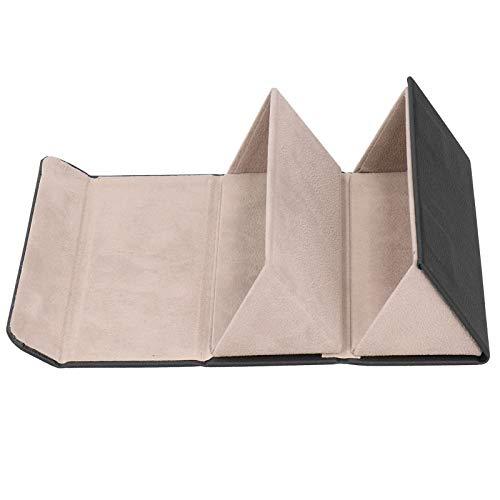 Omabeta Estuche de Almacenamiento de Gafas de Sol Resistente y Duradero Organizador de Gafas de Sol Estuche de exhibición de Gafas de diseño Colgante pequeño y Delicado para la habitación(Black)
