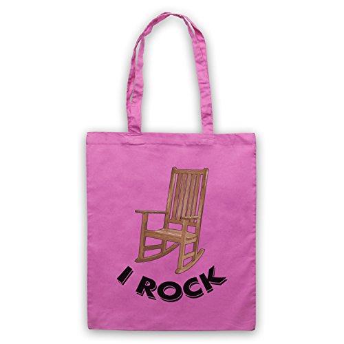 I Rock - Bolsa para silla mecedora, rosa, Talla Unica