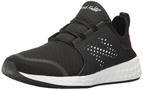 New Balance Herren Sneaker, schwarz/weiß, 46 EU