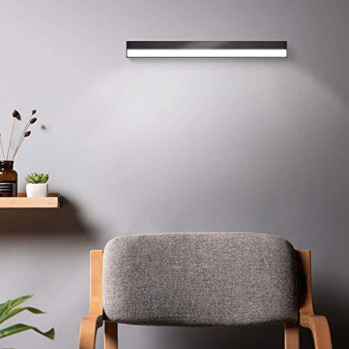 Waqihreu - Luz de Espejo de baño Moderna, lámpara de Pared LED de 5 W, Luces de Pared Recargables USB, iluminación de Espejo cosmético, lámpara de Lectura Regulable para Sala de Estar, Dormitorio, pa