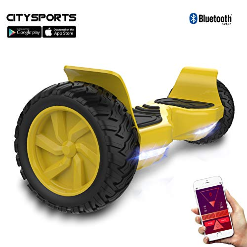 CITYSPORTS SS-01Jr Hoverboard 6.5\'\' LED (Dark Green)