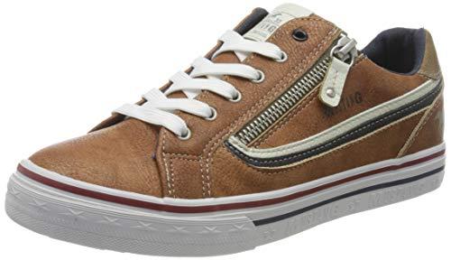 MUSTANG Unisex Kinder 5056-303 Sneaker, Braun (Cognac 307), 39 EU