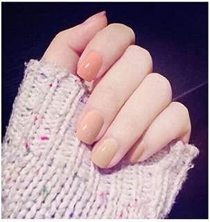 TBOP FAKE NAIL art reusable French long Artifical False nails 24 pcs set in Light Pink color