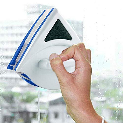NO LOGO YSSP- Magnetic Brush Cleaner Ventana ABS Familia Edificio Doble Cleaner Easy Clean de Limpieza Herramientas de Vidrio Resistente Duradero