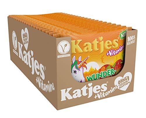 Katjes Wunderland +Vitamine Frucht – Bunte Fruchtgummi Süßigkeiten in magischen Formen und Farben – Einhorn, Regenbogen, Sterne und mehr - Leckere Weingummis, 3.5 kg