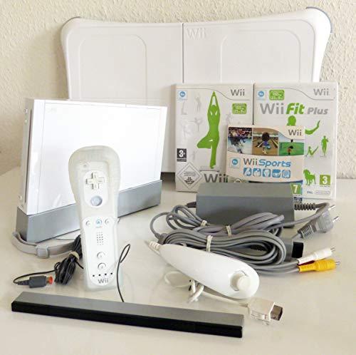 Preisvergleich Produktbild Nintendo Wii Konsole + Wii Fit + Balance Board
