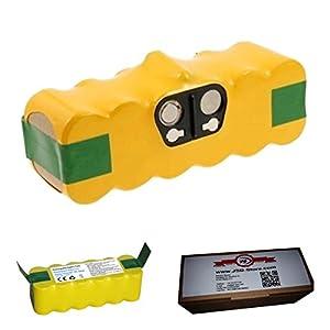 Potente batería con 4500 mAh para iRobot Roomba 896: Amazon.es ...