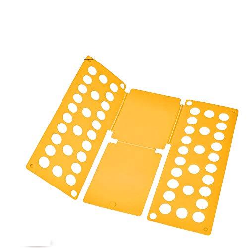 Sealegend FBA_B01D6H9T6E PetOde FolderT Board t Shirt Clothes Folder flip fold Plastic flipfold Laundry Room Organizer, Orange